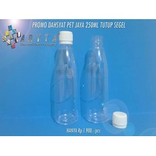 PET plastic bottle of Terrible promo Jaya 250 ml