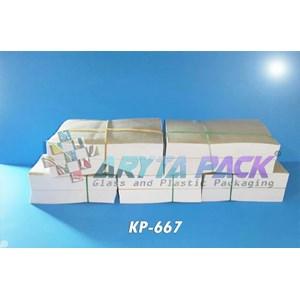 Kertas puyer warna putih (KP667(A))