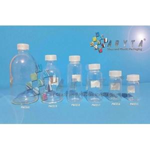 Botol kaca bening 20ml injeksi tutup sumbat (second) (PNC057)