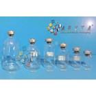 Botol kaca bening 20ml injeksi tutup aluminium (second) (PNC063) 1