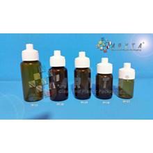 Botol kaca coklat 20ml tutup telon (New) (TP131)