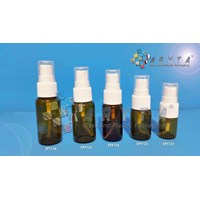 Botol kaca coklat 20ml tutup spray (New) (SPY136)