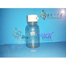 Botol plastik pvc 60 kapsul garlic besar (PVC421)