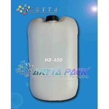 Jerigen plastik hdpe 30 liter kotak natural (HD400