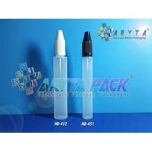 Botol plastik HDPE 20ml liquid natural tutup childproff (HD451)