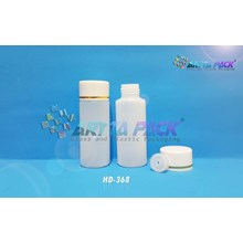 Botol plastik HDPE 60ml yadli tutup tetes (HD368)