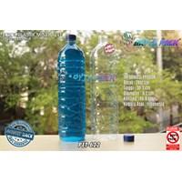 Dari Botol plastik PET 1500ml aqua tutup segel biru (PET622) 0