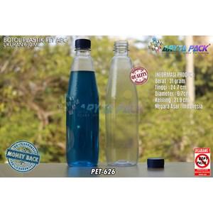From PET626. Plastic bottle drinks 630ml ABC Blue Seal lid 0