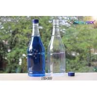 Dari Botol plastik minuman 1 liter angsa tutup segel biru (PET630) 0