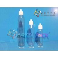 Botol plastik PVC 100ml telon tutup tetes (PVC419)