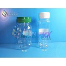 PET524. Toples plastik PET 200ml selai cinta
