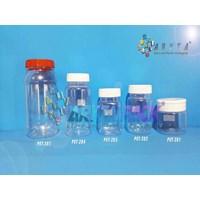 PET283. Toples plastik PET 200ml selai kotak