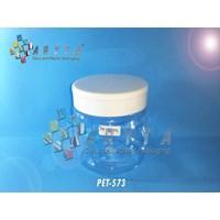 PET573. Toples plastik PET Jar SP 250ml tutup puti