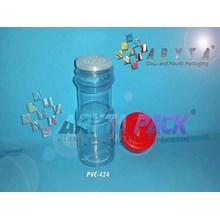 Toples plastik pvc 100ml selera tinggi (PVC424)