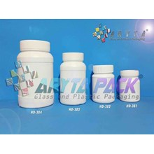 HD381. Jar 100 ml hdpe plastic click small