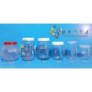 JR647. 230ml glass lid plastic jar (Second)