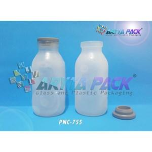 Botol kaca bening ASI 100ml tutup karet (New) (PNC755)