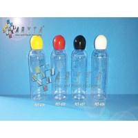 Botol plastik PET 60ml Lena  tutup  merah globe (PET608)                  1