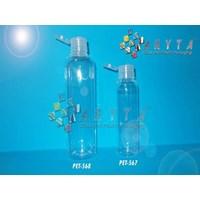 Botol plastik PET Lena 100ml  tutup flip top (PET567)                  1