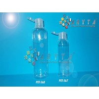 Botol plastik PET Joni 250ml tutup flip top (PET568)                       1