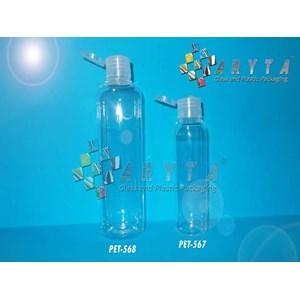 Botol plastik PET Joni 250ml tutup flip top (PET568)
