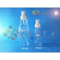 Botol plastik PET amos 250ml tutup spray (PET564)                           1
