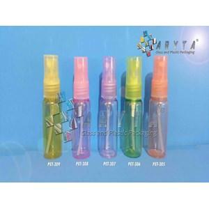 Botol plastik PET 20ml pink tutup spray (PET308)