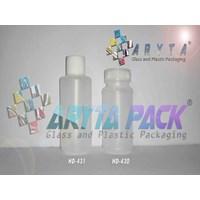 Botol plastik HDPE 100ml pot ONS tutup ulir (HD430)                            1