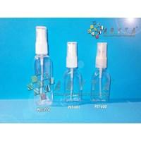 PET601. Botol plastik PET 30ml kosmetik gepeng tut
