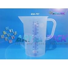 Gelas ukur plastik ukuran 1 Liter (GSU797)