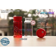 PET923. PET plastic jar 100 ml boncabe straight sl