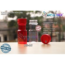 PET441. PET plastic jar 150 ml boncabe elbow slidi