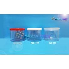 Toples plastik PET 250ml fox tutup natural (PET521)