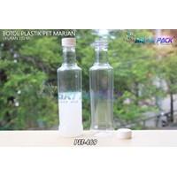 Botol plastik minuman 350ml marjan kecil tutup putih (PET469) 1