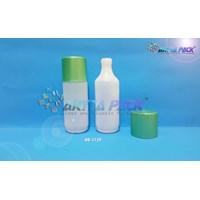 Botol plastik HDPE 100ml madona tutup hijau (HD1159) 1
