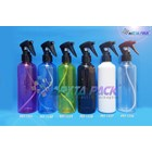 PET plastic bottle 250 ml blue Cap spray gun Joni black (PET1340) 1