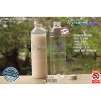 Botol plastik minuman 330ml pet almond tutup putih (PET1433)
