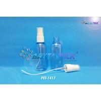 Botol plastik PET 60ml lena biru tutup spray (PET1417) 1