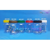 Toples plastik pet 125ml top-1 tutup gold (PET928) 1