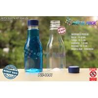 Dari Botol plastik minuman 250ml pear tutup segel biru (PET1841) 0
