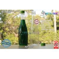 Botol plastik minuman 630ml angsa tutup segel hijau (PET2027) 1