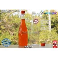 Botol plastik minuman 630ml angsa tutup segel orange (PET2024) 1