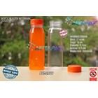 Drink plastic bottles 250ml kale juice prime cover orange seal (PET2219) 1