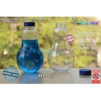 Dari Botol plastik minuman bohlam 320ml tutup pendek segel biru (PET1277) 0