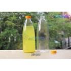 600ml pet beverage plastic bottle beautiful yellow short seal cap (PET1319) 1