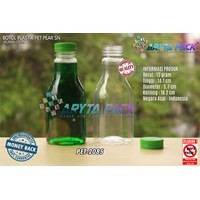 250ml pear lid seal green plastic beverage bottle