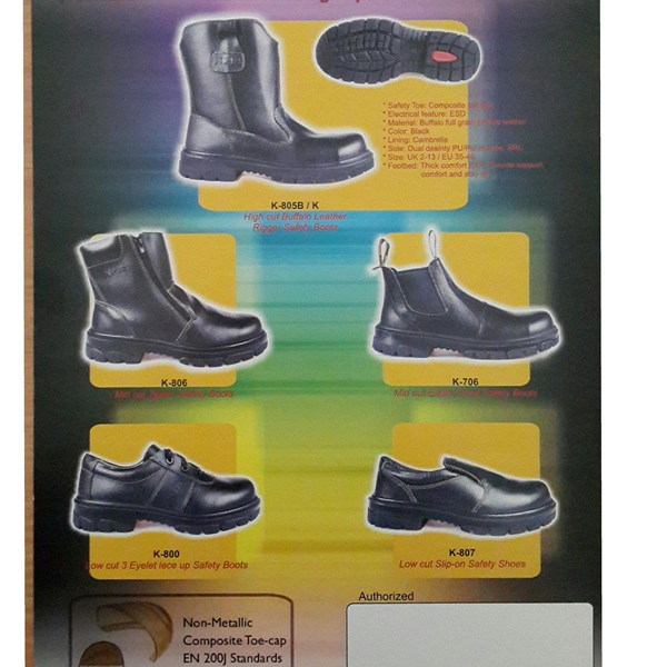 6a948b75851 Sell King Power Safety Shoes K805B