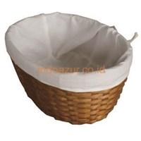 Jual Anyaman Bambu Keranjang Roti Dengan Cover Kain 2