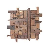 Jual Hiasan Gantung Dinding Dan Pintu Kayu Panel Abstrak