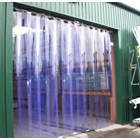 Tirai Plastik PVC Curtain Blue PVCCB22050 1
